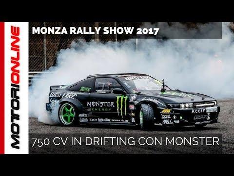 Monster & Drifting con 750 CV al Monza Rally Show 2017!