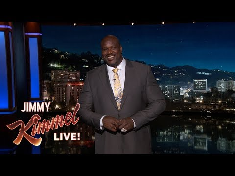 Download Youtube: Shaq's Guest Host Monologue on Jimmy Kimmel Live