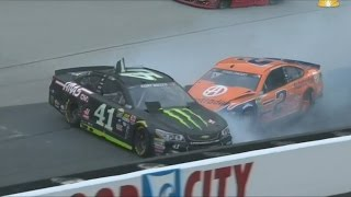 all nascar crashes for unoh 200 food city 300 bass pro shops nra 500 8 17 8 21 2016 live