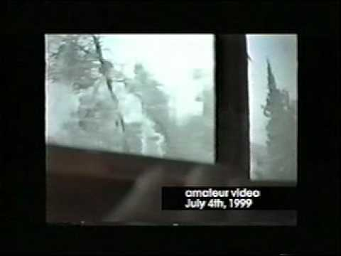 July 4, 1999 storm from a Canadian cabin