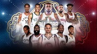 Матч всех звезд NBA 2К17 // NBA All-Star Game 2K17 // NBA All-Star Celebrity 2K17