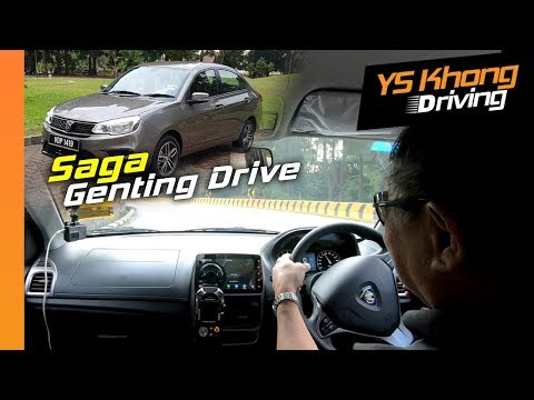 Proton Saga 2019 [Genting Hill Climb] - It's Hot But Does It Have Enough Power? | YS Khong Driving