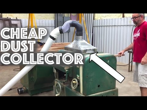 Sheetmetal Fabrication -Cheap Planer Dust Collector Port - Metalwork Monday - Tig Welding Basics