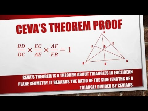 Ceva's Theorem Proof (Hindi)   Kamaldheeriya