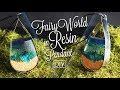 Fairy World in Resin Pendant  🏞 DIY