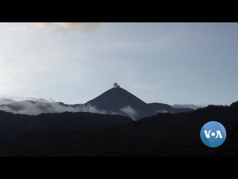 Scientist Hikes Off-the-grid To Keep Tabs On Active Volcano In Ecuador