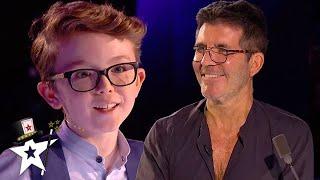 Little Magician Aidan McCann STORMS BGT 2020 | All Performance | Got Talent Global