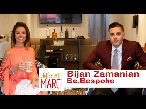 "Be.Bespoke owner Bijan Zamanian of Westwood on ""Coffee With Marci."""