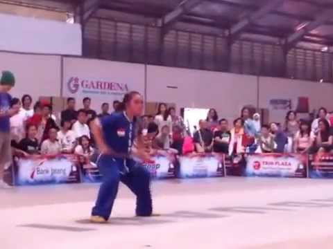 Nikka -Gold - Nan Gun B - Borobudur Wushu Championship 2015 Magelang