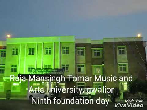 Ninth Foundation Day Raja Mansingh Tomar Music and Arts University, GWALIOR