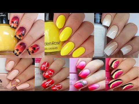 30 Nail Art Tutorials In 10 Minutes - Nail Art Designs Compilation 2017