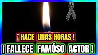 ¡ LA TELEVISIÓN SE VISTE DE LUTO ! Hace Unas Horas Falecci0 GREGORIO CASAL Actor Mexicano ! thumbnail