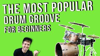 Top 40 drum groove for beginners | DRUM LESSON by Jon Foster