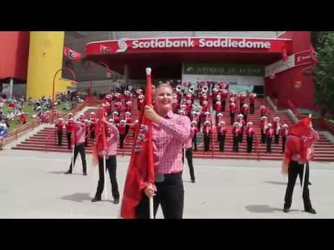 Calgary Stampede Show Band Performing @ 2015 Calgary Stampede