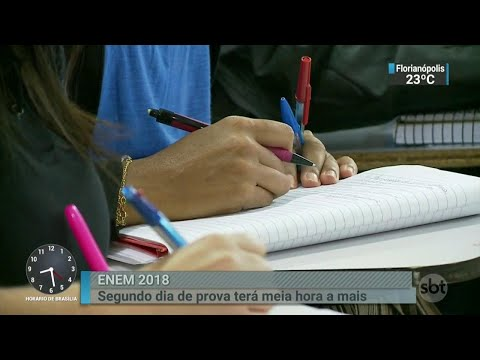 MEC divulga cronograma do Enem, marcado para novembro | SBT Brasil (21/03/18)