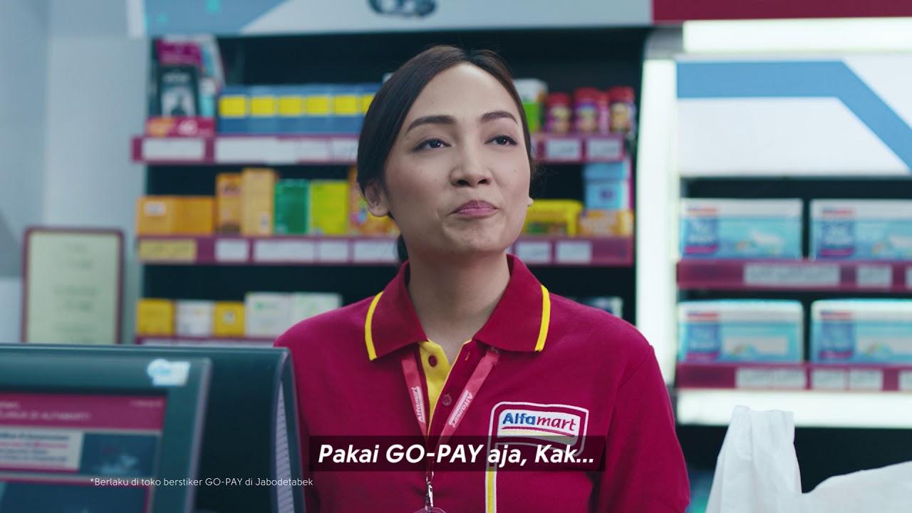 Bayar Pake Go Pay Di Alfamart Lebih Untung Youtube