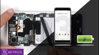 Google Pixel 3 Battery Replacement - Tutorial