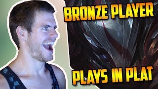 LOLHOUNDS FACECAM ! Blood Moon TALON in PLATINUM ( Super Serious Tryhard Mode )