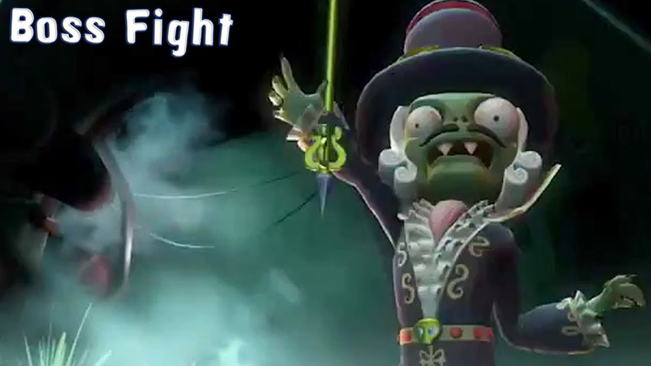 plants vs zombies garden warfare 2 baron von bats boss fight gameplay pc hd 1080p60fps youtube - Images Of Bats 2