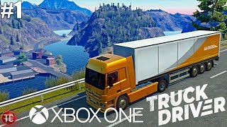 Truck Driver: NEW Xbox One Trucking Simulator! First Mission & GAMEPLAY!