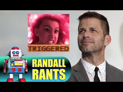 Zack Snyder & The Triggering of Haters - RANDALL RANTS #8