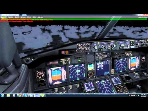 PMDG 737-800WL Oman Air Approach FlyTampa Vienna