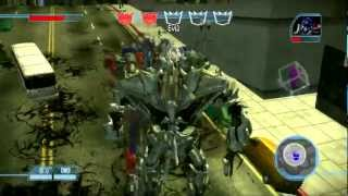 Transformers: The Game Walkthrough: Decepticons - The Day of The Machines