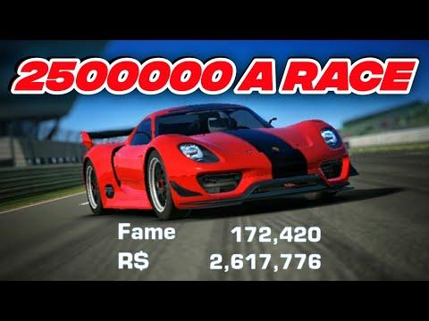 Real Racing 3 Farming 2.5M Per Race [ENDLESS ENDURANCE] 2020 / 918 RSR