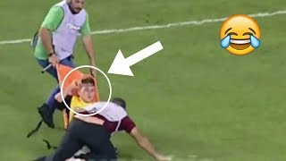 FUNNIEST STRECHERS FAILS IN HISTORY OF FOOTBALL ● STRETCHER FAILS