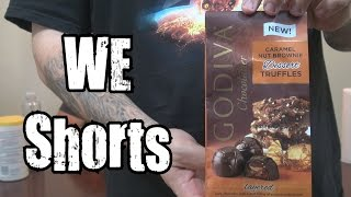 We Shorts - Godiva Caramel Nut Brownie Dessert Truffles