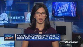 Former NYC Mayor Michael Bloomberg prepares to enter Democratic primary