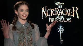 The Nutcracker and the Four Realms || Mackenzie Foy Generic Interview || #SocialNews.XYZ