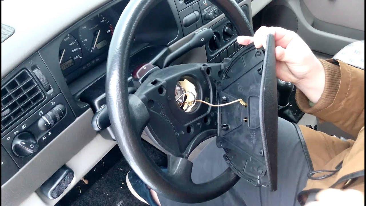Volant Golf 3 : d montage cache volant golf 3 youtube ~ Melissatoandfro.com Idées de Décoration