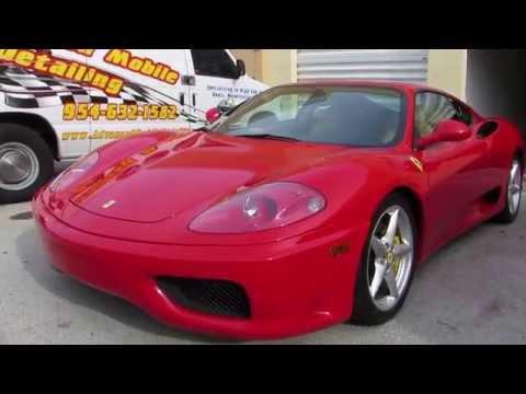 Ferrari 360 Modena F1 by Advanced Detailing of South Florida