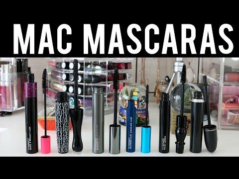 MAC Cosmetics | Probando Máscaras de Pestañas