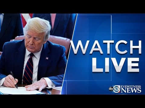 LIVE: Pres. Trump's Remarks After Signing $2.2 Trillion COVID-19 Stimulus Bill