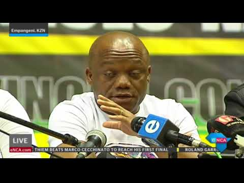 ANC KZN apologises to Gwede Mantashe after he was booed