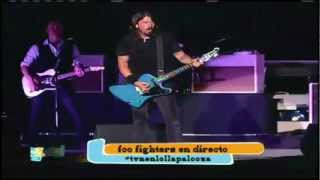Foo Fighters -Stacked Actors/Feel Good Hit Of The Summer- LOLLAPALOOZA 2012 Chile