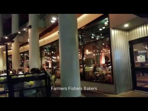 Dinner At Farmers Fishers Bakers- Georgetown Water Front #OurlifeinDC Episode 7