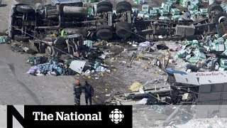RCMP: No decision on criminal charges in bus crash yet