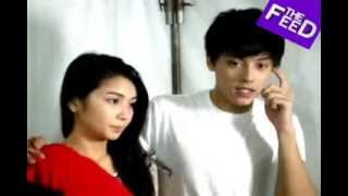 behind the scenes on kathniel s mmff movie pagpag