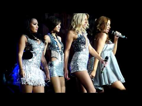 "Up (Wideboys Edit) (HD) - The Saturdays (Live ""All Fired Up Tour"" 2011, Nottingham Arena)"