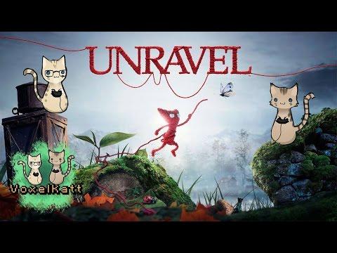 Voxelkatt testar Unravel