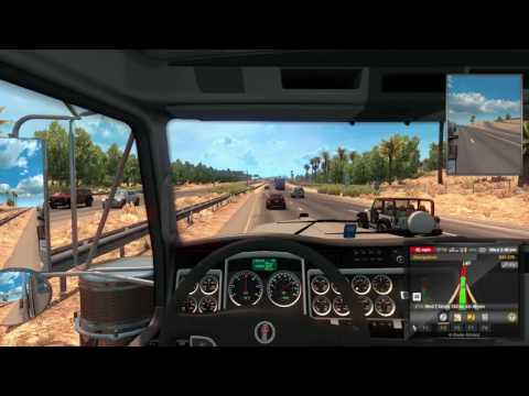 American Truck Simulator-Tucson to Oxnard Part 2