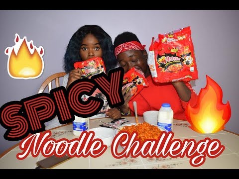 SPICY NOODLE CHALLENGE | EXTREME x2