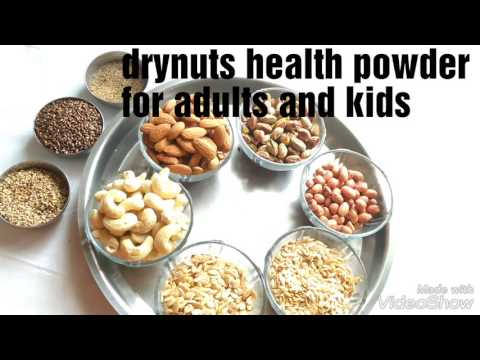 Dry Nuts Health Powder For Adults And Kids