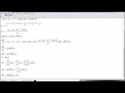 Margrabe model (option formula). Change of numeraire
