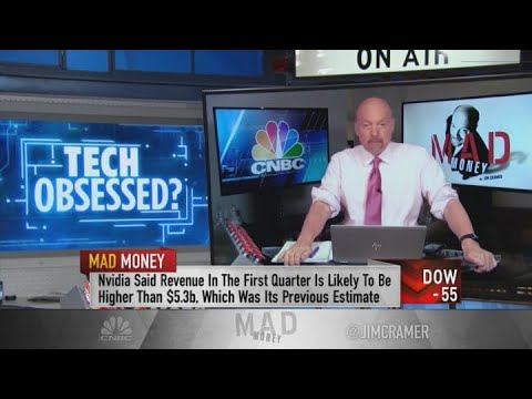 Download Jim Cramer says Nvidia stock will 'end up looking cheap' a year from now