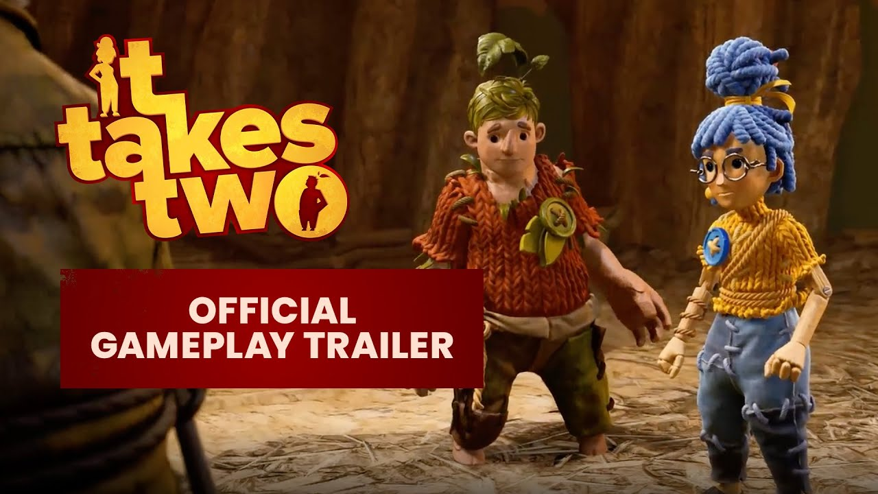 It Takes Two трейлер игры