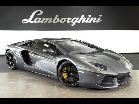 2012 Lamborghini Aventador LP 700 4 Grigio Estoque L0647